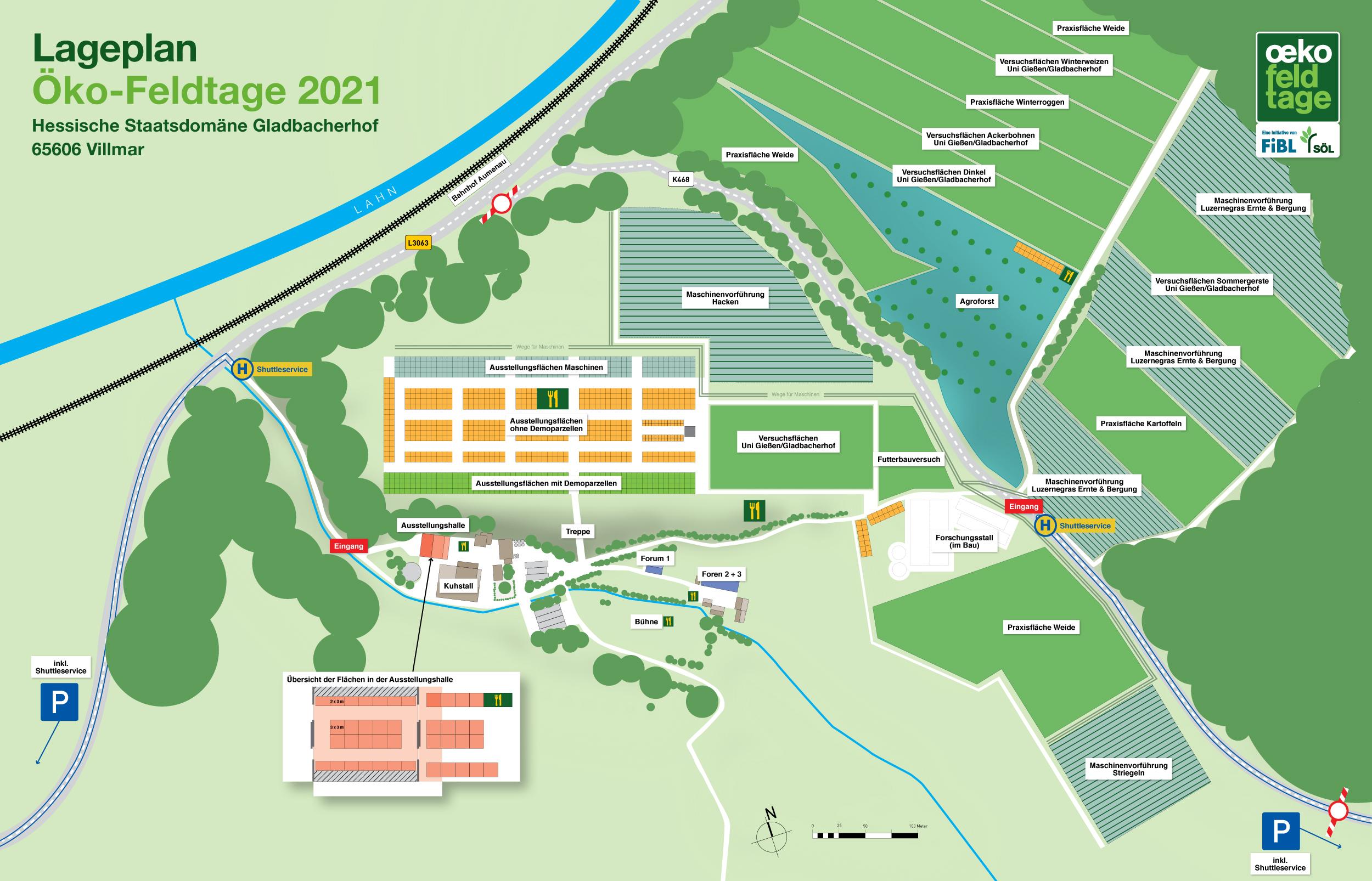 Veranstaltungsgelände Öko-Feldtage 2021